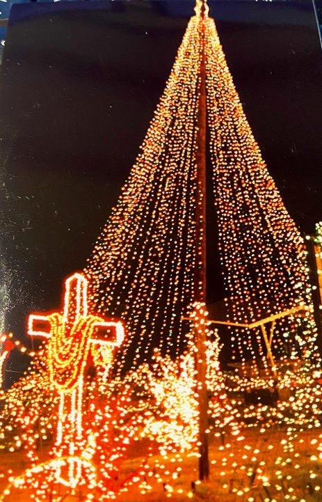 Christmas Treeand Cross