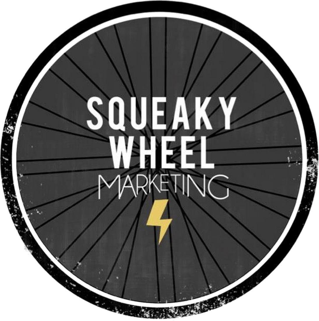Squeaky Wheel Marketing Transparent logo