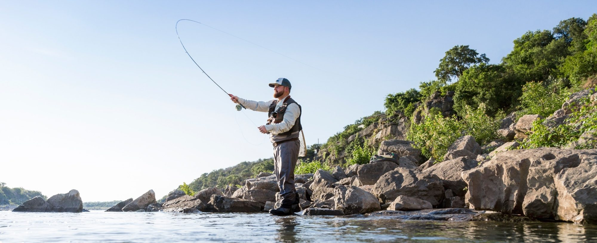 Fishing Marble Falls Wide