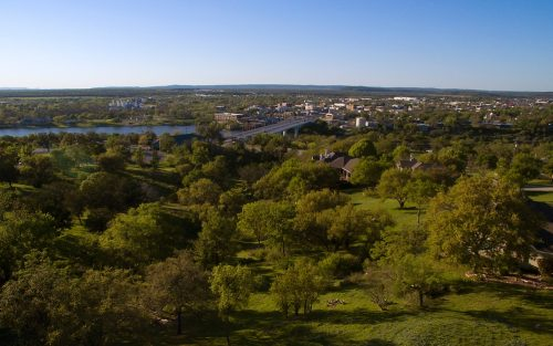 Marble Falls From Above